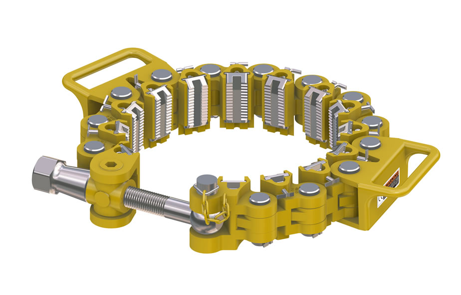 Type c safety clamps handling tools paramount oil